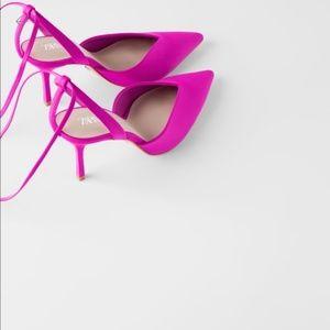 Hot Pink ZARA Heels